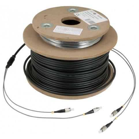Optisches Outdoor-Kabel zur Erdverlegung 30m