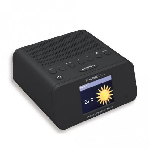 Albrecht DR450 Radiowecker 3- in -1, Empfang von Internet-, Digital- und UKW-Radiosendern
