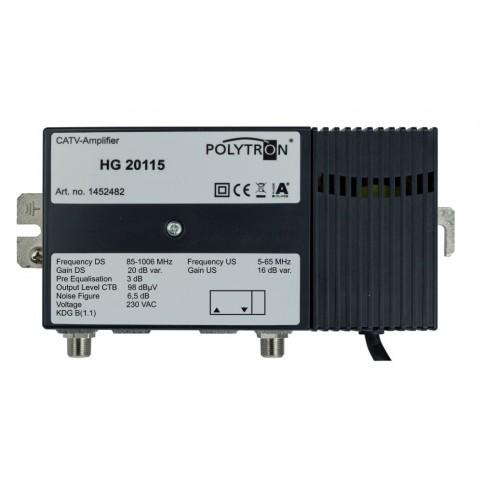 Polytron-Hausanschlußverstärker, 30dB, Rückkanal integriert