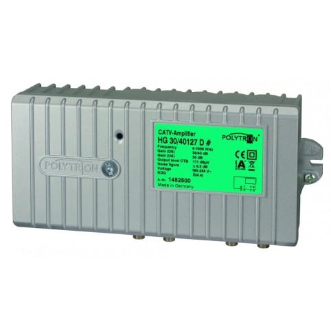 Polytron-Hausanschlußverstärker 1 GHz, 30/40dB , Rückkanal 30dB