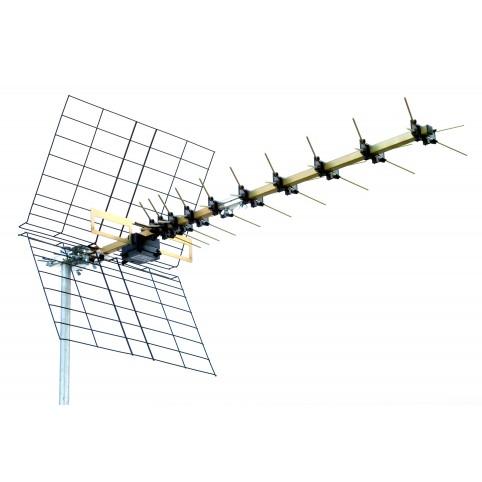 UHF 40 Elemente Antenne Kanal 21-69 LXline