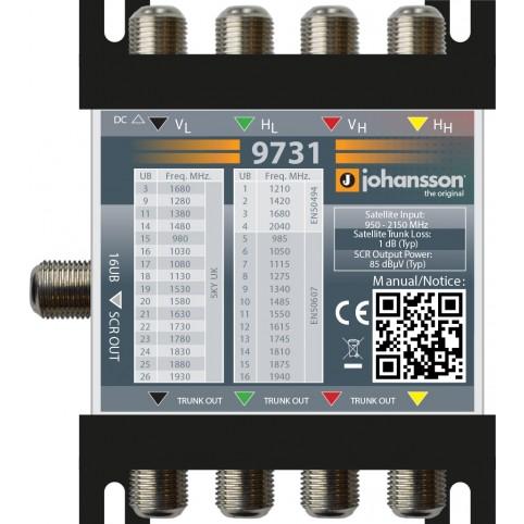 Johansson Digitaler SCR-Multischalter Unicable II