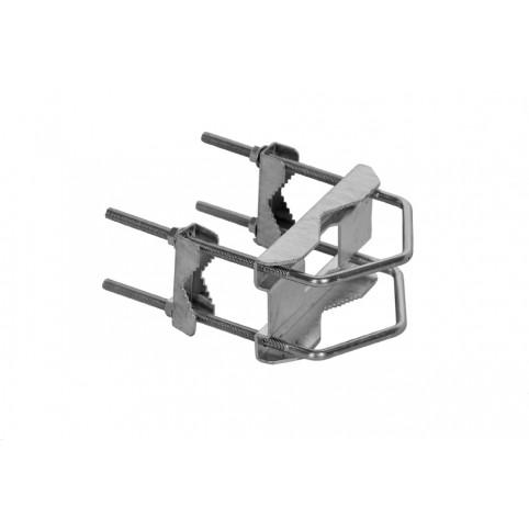 A.S.SAT Kreuzschelle für Masten von Ø60mm bis zu Ø130mm