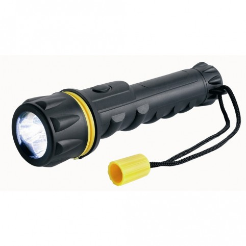 Ring Automative LED-Gummi-Taschenlampe 3 x LED für 2x AA