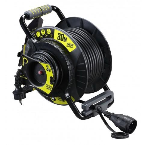 Masterplug Pro XT Kabeltrommel Garten L Anti Twist 30+3m