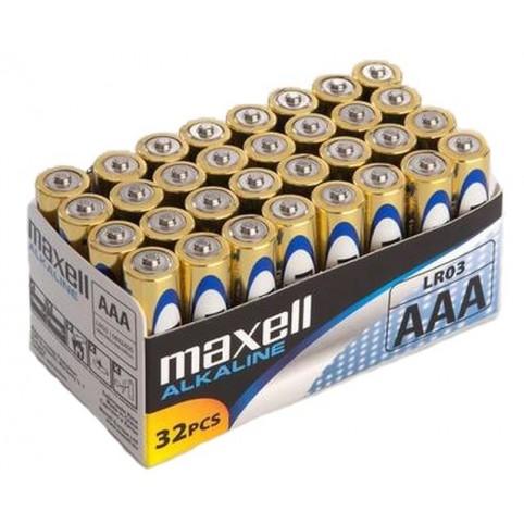 Maxell LR03 Alkaline Micro Batterien AAA 32er Vorratspack