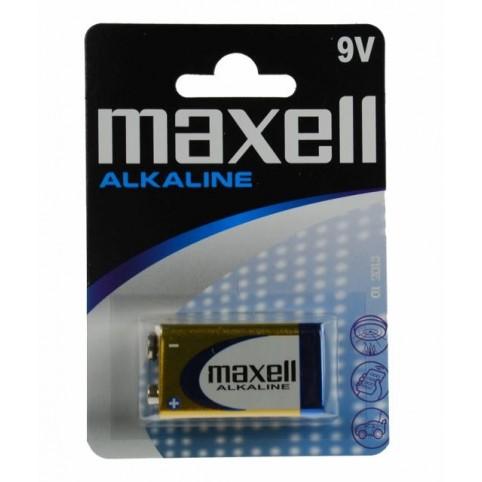 MAXELL Alkaline Batterie 6LR61 9V Block 1er Blister
