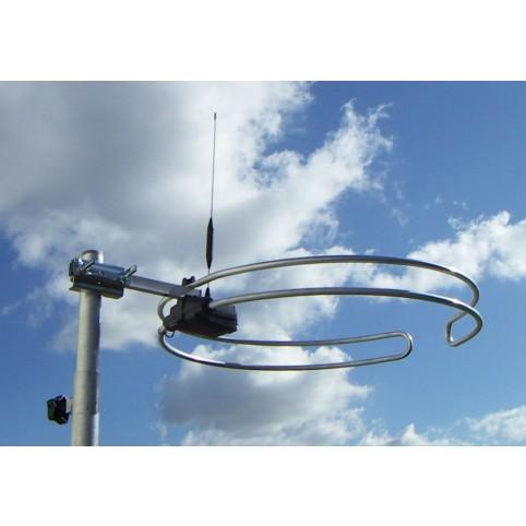 Multibandantenne als Ringdipol, UKW, DAB/DAB+ und DVB-T/T2