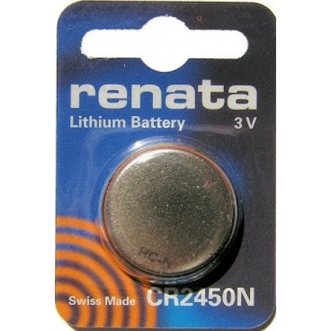 Renata CR24503V Lithium Knopfzelle 540mAh im 1er Blister