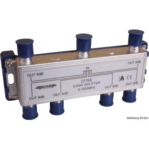 SAT- Verteiler 6-fach, 5-2300 MHz