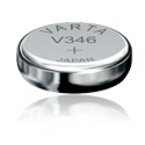 Uhrenbatterie Typ V346 SR712SW Silberoxyd 1,55V 10mAh 1,29x Ø7,9mm
