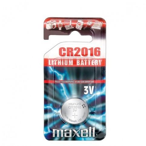 MAXELL Lithium Knopfzelle CR2016 1er Blister