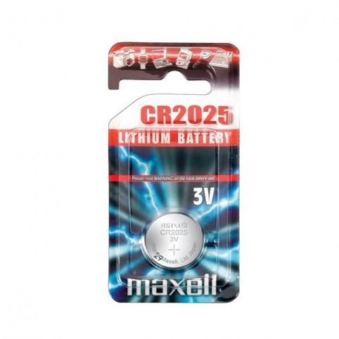 MAXELL Lithium Knopfzelle CR2025 1er Blister