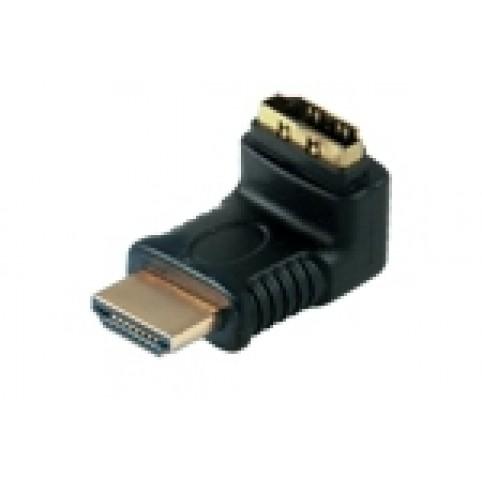 HDMI Winkeladapter 270°, HDMI Stecker <> HDMI Buchse