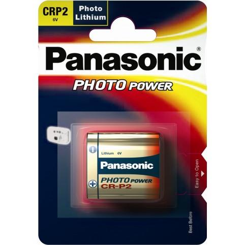 Panasonic CRP2P Foto-Lithium 6V im 1er Blister