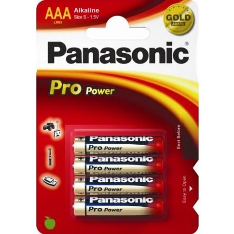 Panasonic Pro Power Gold LR03 AAA Micro Batterie 1,5V 4er-Blister