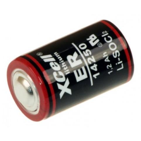 XCell 1/2 AA Lithiumbatterie 3,6V, 1er Blister