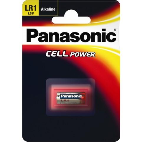 Panasonic LR1 1,5V Alkaline Ladyzelle im 1er Blister