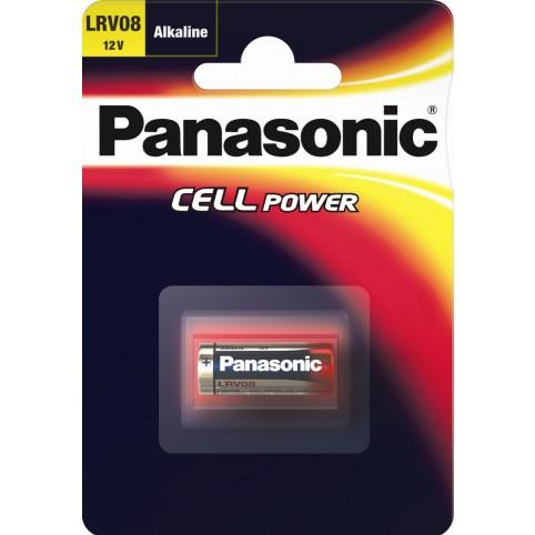 Panasonic LRV08 Alkaline Batterie 12V im 1er Blister