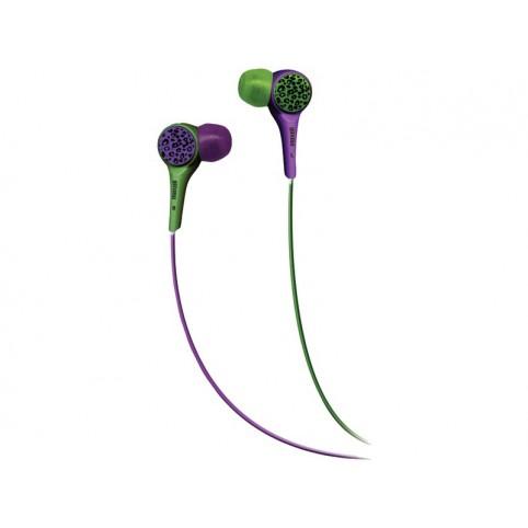 MAXELL Ohrhörer Audio Wild- budz grün/lila 3,5mm Klinke Smartphone