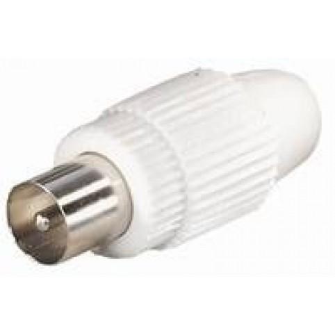 IEC-Stecker für Koaxial 4,5-7mm