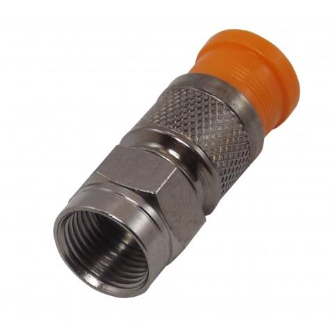 PPC F-Kompressionsstecker orange für 0,8/3,5 Type