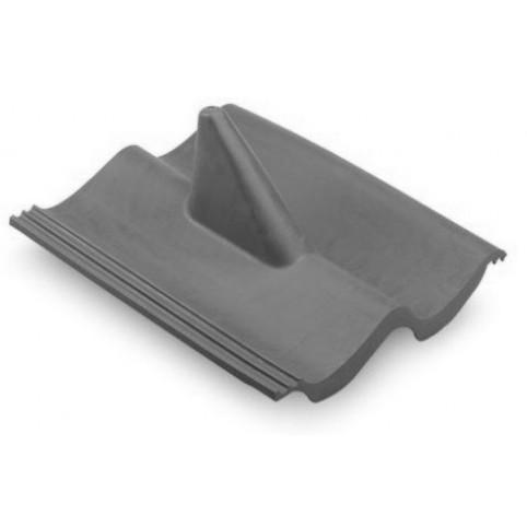 Profildachziegel Kunststoff schwarz