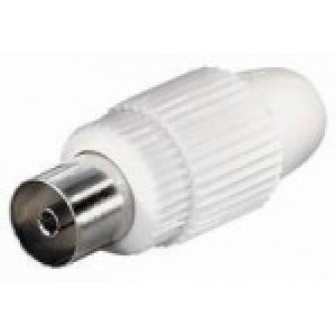IEC-Kupplung für Koaxial 4,5-7mm
