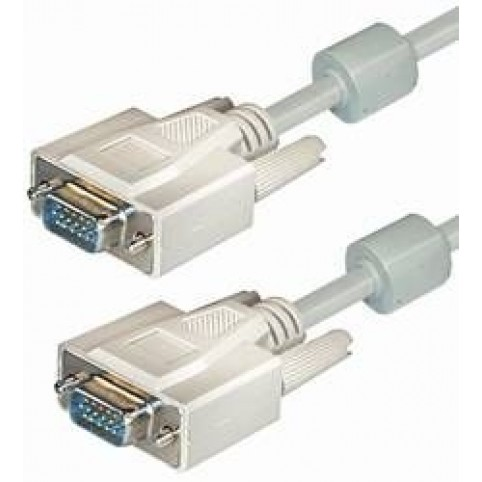 VGA-Anschlußkabel Sub D-plug 15pin 10m