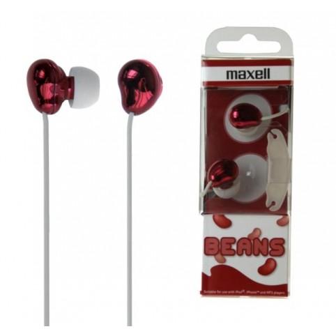 MAXELL Cool Beans Ohrhörer rot