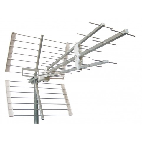 UHF 41 Elemente Antenne Kanal 21-60 3line mit LTE Filter