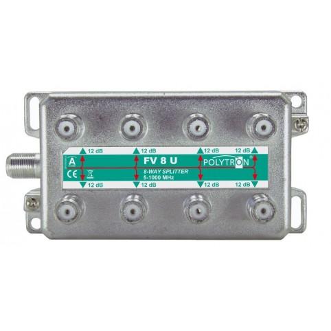 Polytron BK 8-fach Verteiler mit vertikalen Anschlüssen 5-1000 MHz