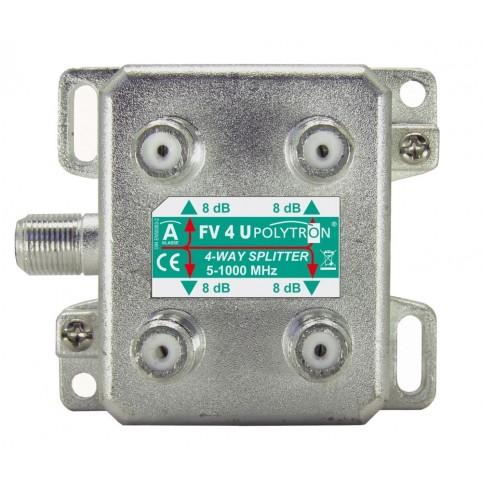 Polytron BK 4-fach Verteiler mit vertikalen Anschlüssen 5-1000 MHz