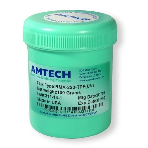 Amtech RMA 223-TPF (UV), Rework Flussmittel halogenhaltig, 100g