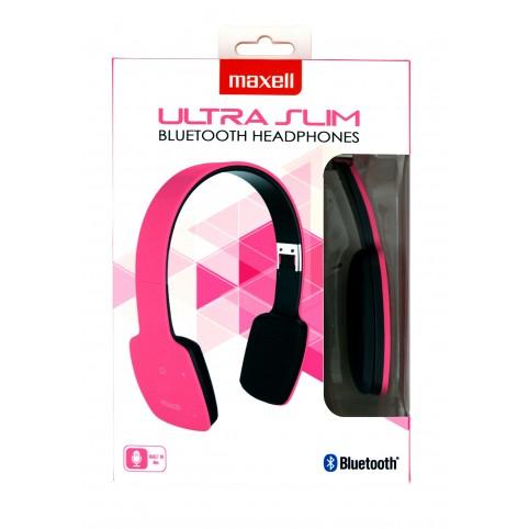 Maxell MXH-BT1000 Ultra Silm Bluetooth Kopfhörer pink