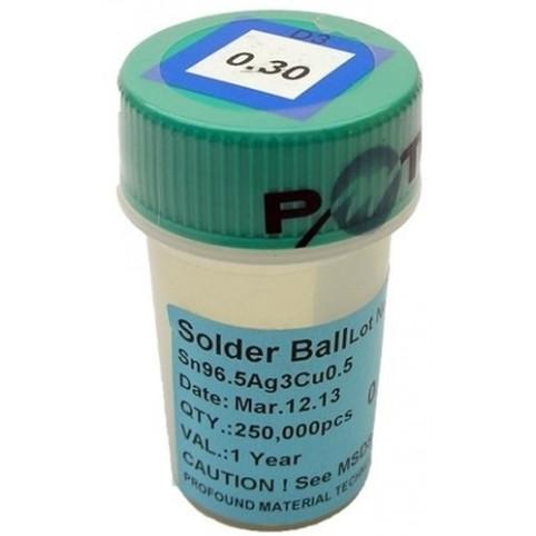 BGA Lötkugeln für Reballing bleifrei 0.30 mm 250000 Stück