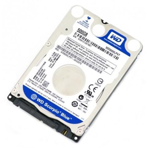 Interne S-ATA Festplatte 500GB Western Digital 2,5 Zoll