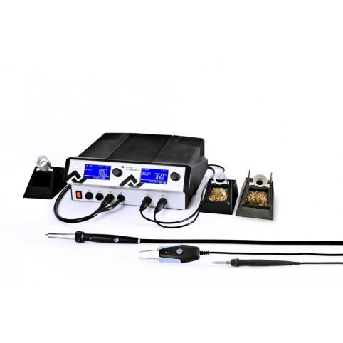 Ersa i-Con Vario 4 ESD 4 Kanal Lötstation mit i-Tool AIR S, i-Tool & Chip-Tool Vario