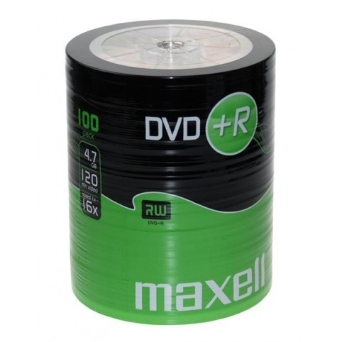 MAXELL DVD+R 4.7GB 16x speed 100er Bulk/shrink