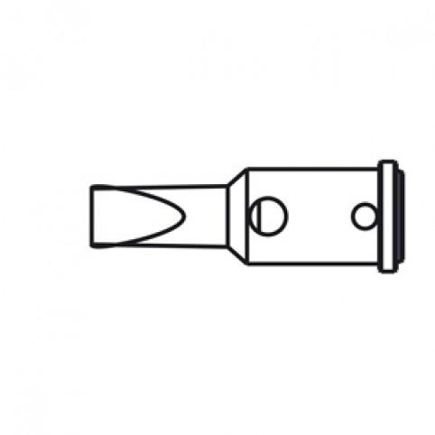 ERSA Lötspitze für Independent 75 gerade vernickelt meißelförmig 4,8 mm