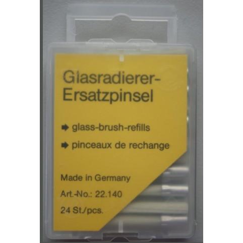 Ersatzspitzen für Glasfaserradierer 4 x 40mm 24 Stück
