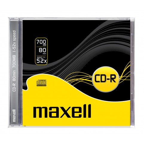 MAXELL CD-R 80 XL 52x speed 700MB 1er Jewelcase