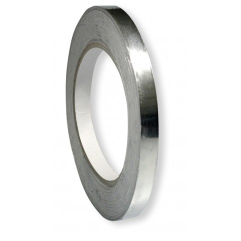 Rework Aluminium Folie selbstklebend 10mm breit 40m Rolle