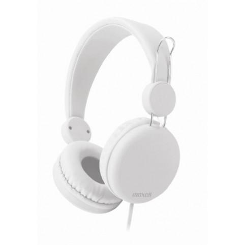 Maxell SPECTRUM HP Kopfhörer mit inline Mikrofon weiß