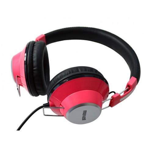 MAXELL Kopfhörer Retro DJ Colour pink 3,5mm Klinke