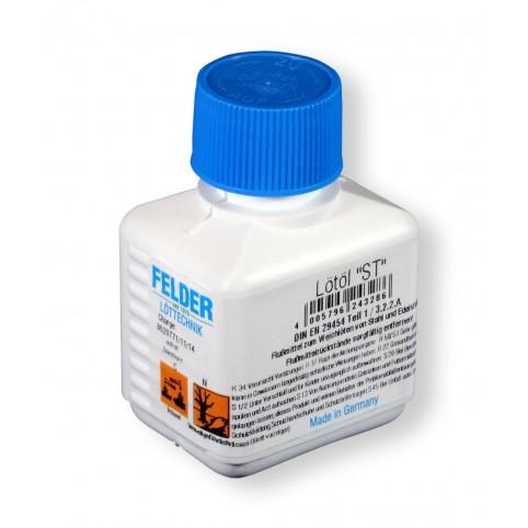 Felder Flussmittel Lötöl für Stahl und Edelstahl ST DIN EN 29454 3.2.2.A (F-SW11) für Stahl und Edelstahl 100ml