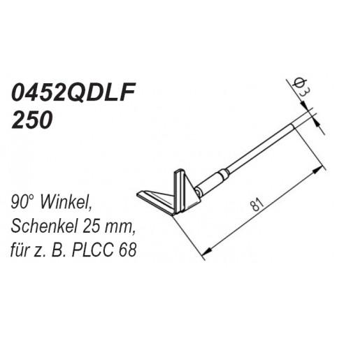 ERSA Entlötspitzen-Satz Schenkel im 90° Winkel 25,0 mm Chip-Tool