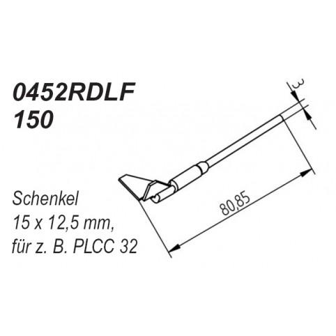 ERSA Entlötspitzen-Satz für Schenkel 15,0 x 12,5mm im 90° Winkel