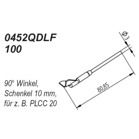 ERSA Entlötspitzen-Satz Schenkel im 90° Winkel 10,0 mm für Chip-Tool