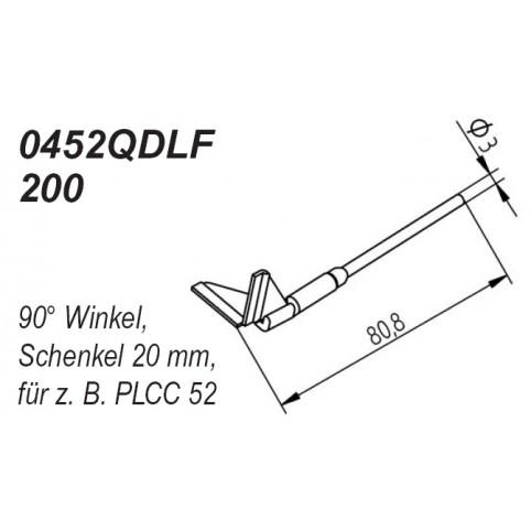 ERSA Entlötspitzen-Satz Schenkel im 90° Winkel 20,0 mm für Chip-Tool